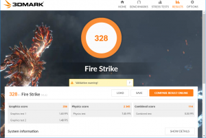 3D Mark Firestrike